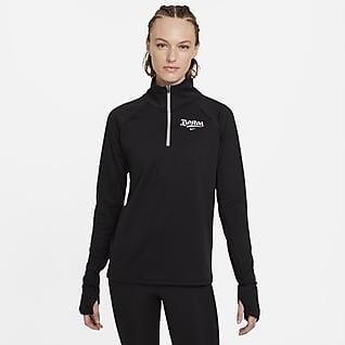 Nike Dri-FIT Sphere Boston Women's 1/2-Zip Running Top