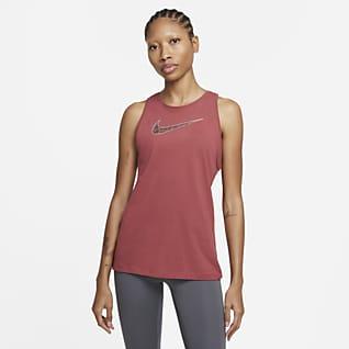 Nike Dri-FIT Camiseta de tirantes de entrenamiento con estampado - Mujer