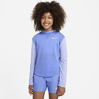 Nike Dri-FIT Trophy Big Kids' (Girls') Hooded Long-Sleeve Top