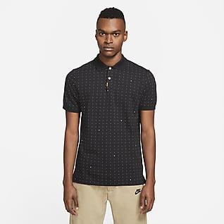 The Nike Polo Mønstret poloskjorte med smal passform for herre