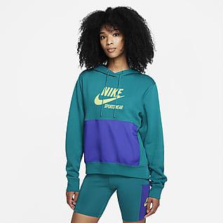 Nike Sportswear Heritage Sudadera con capucha de tejido Fleece para mujer