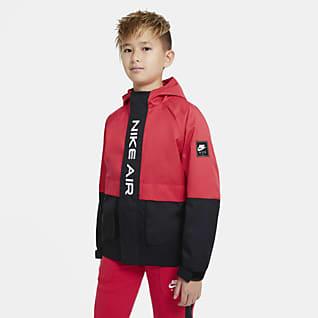 Nike Air Kurtka z tkaniny dla dużych dzieci (chłopców)