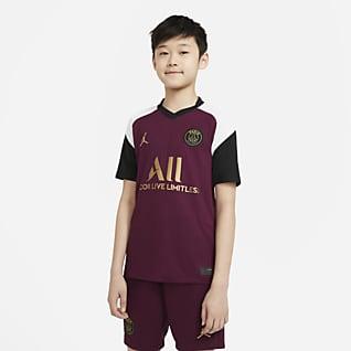 Paris Saint-Germain alternativa Stadium 2020/21 Camiseta de fútbol para niños talla grande