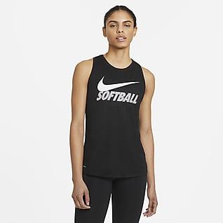 Nike Legend Camiseta de tirantes de softball para mujer
