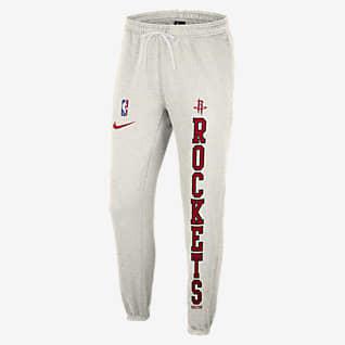 Houston Rockets Courtside Pantalones Nike NBA de tejido Fleece para hombre