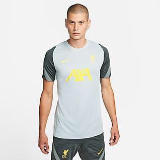 Liverpool FC Strike Nike Dri-FIT rövid ujjú férfi futballfelső