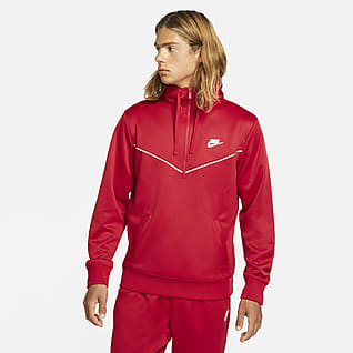 Nike Sportswear Sweat à capuche et demi-zip pour Homme