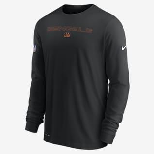 Nike Dri-FIT Sideline Team Issue (NFL Cincinnati Bengals) Men's Long-Sleeve T-Shirt