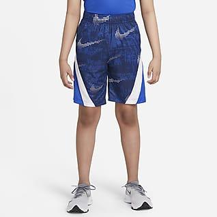 Nike Dominate Shorts de entrenamiento estampados para niños talla grande