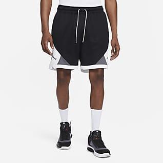 Jordan Dri-FIT Air กางเกงขาสั้นผู้ชายลายข้าวหลามตัด