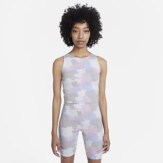Nike Sportswear Женская укороченная майка с принтом