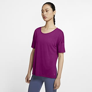 Nike Yoga Women's Short-Sleeve Top