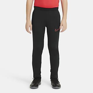 Nike Dri-FIT Academy กางเกงฟุตบอลถักขายาวเด็กโต