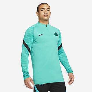 Inter Mailand Strike Nike Dri-FIT Fußball-Drill-Oberteil für Herren