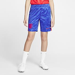England 2020 Stadium Away Older Kids' Football Shorts