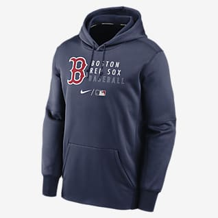 Nike Therma (MLB Boston Red Sox) Men's Pullover Hoodie