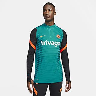 Chelsea FC Strike Elite Playera de entrenamiento de fútbol Nike Dri-FIT ADV para hombre