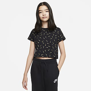 Nike Sportswear Older Kids' (Girls') Cropped T-Shirt
