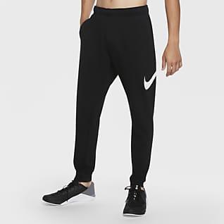 Nike Dri-FIT กางเกงเทรนนิ่งขายาวขาเรียวผู้ชายทรง