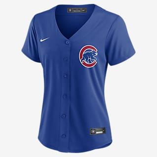 MLB Chicago Cubs (Javier Baez) Women's Replica Baseball Jersey