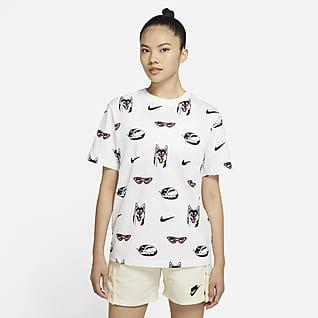Nike Sportswear เสื้อยืดบอยเฟรนด์ผู้หญิง