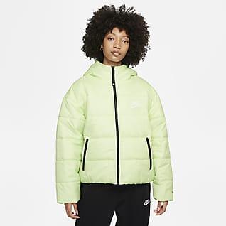 Nike Sportswear Therma-FIT Repel Chamarra con gorro para mujer