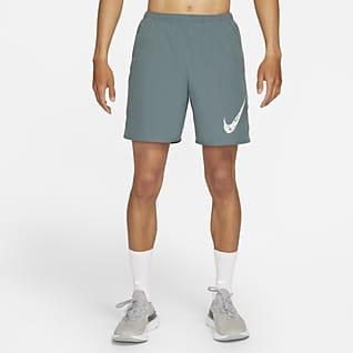 Nike Run Wild Run กางเกงวิ่งขาสั้นมีซับในผู้ชาย