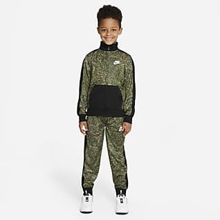 Nike Conjunto de entrenamiento estampado para niños talla pequeña