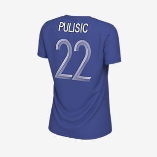 Chelsea FC (Pulisic) Playera de fútbol para mujer