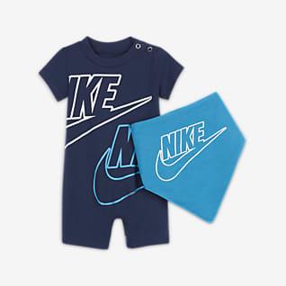 Nike Baby (0-9M) Romper and Bib Set