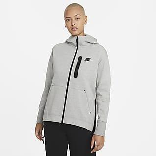 Nike Sportswear Tech Fleece Sudadera con gorro de cierre completo imprescindible para mujer