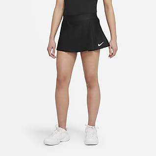 NikeCourt Victory Spódniczka tenisowa dla dużych dzieci (dziewcząt)