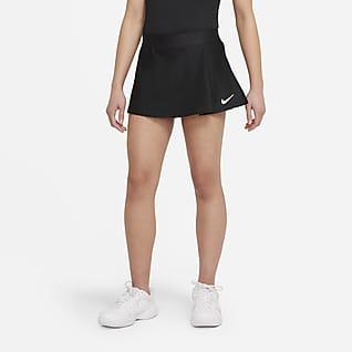 NikeCourt Victory Tenisová sukně pro větší děti (dívky)
