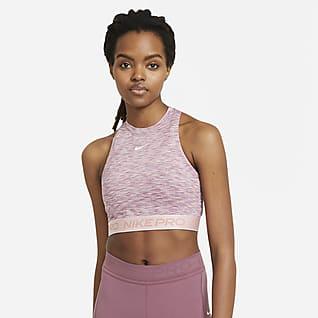 Nike Pro Женская майка с космическим принтом с эффектом тай-дай
