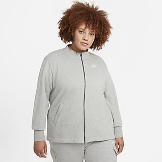 Nike Sportswear Essential Women's Fleece Cardigan (Plus Size)
