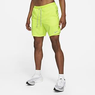 Nike Flex Stride Ανδρικό σορτς για τρέξιμο δύο σε ένα 18 cm