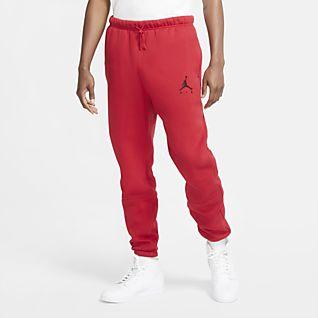 Jordan Jumpman Air Calças de lã cardada para homem