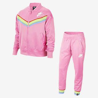 Nike Sportswear Heritage Older Kids' (Girls') Tracksuit