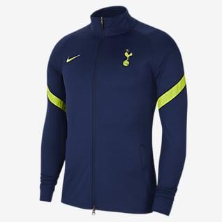 Tottenham Hotspur Strike Nike knit voetbaltrainingsjack met Dri-FIT voor heren
