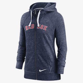 Nike Wordmark Vintage (MLB Boston Red Sox) Women's Full-Zip Hoodie