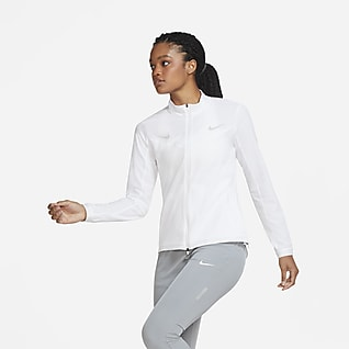 Nike løpejakke til dame med hel glidelås