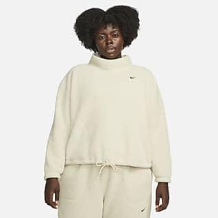 Nike Therma-FIT Women's Fleece Training Sweatshirt (Plus Size)