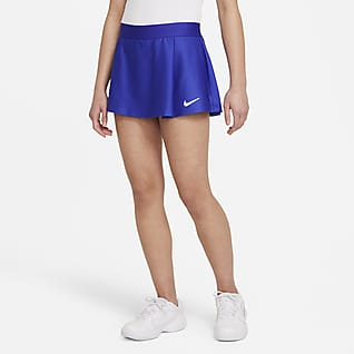 NikeCourt Victory Tenniskjol för ungdom (tjejer)