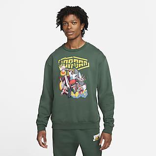 Jordan Sport DNA Fleece-Sweatshirt mit Rundhalsausschnitt für Herren