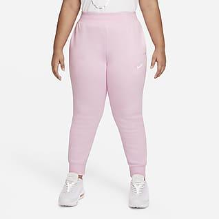 Nike Sportswear Club Fleece Big Kids' (Girls') Pants (Extended Size)