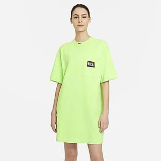 Nike Sportswear Γυναικείο φόρεμα με ξεθωριασμένη όψη