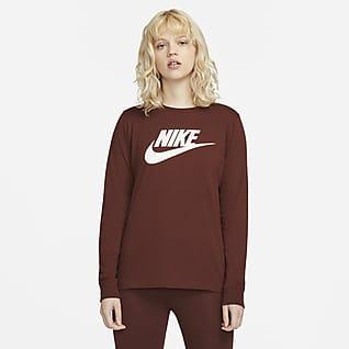Nike Sportswear Playera manga larga para mujer