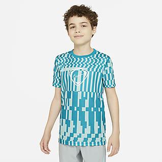 Nike Dri-FIT Academy Playera de fútbol para niños talla grande