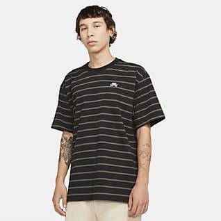 Nike SB Playera con rayas para hombre