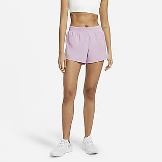 Nike Swoosh Run Hardloopshorts voor dames